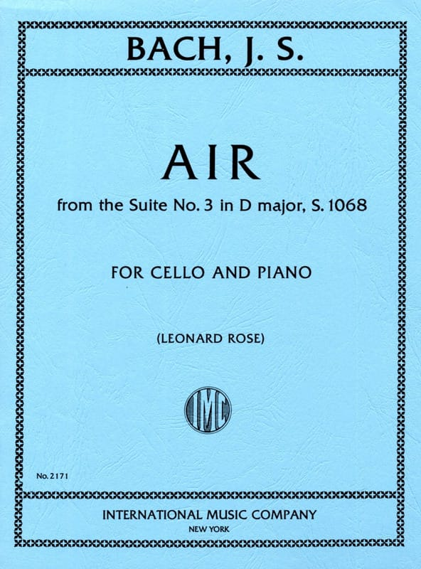 Air from the Suite n° 3 in D Major - BACH - laflutedepan.com