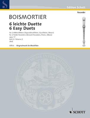6 Leichte Duette op. 17, Bd. 2 - 2 Altblockflöten laflutedepan