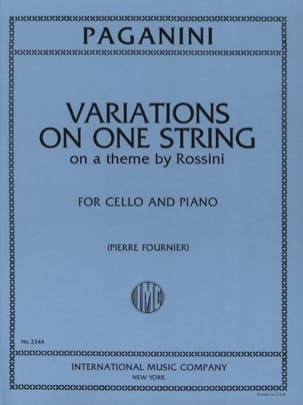 Variations on One String on a Theme by Rossini PAGANINI laflutedepan