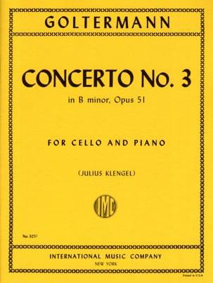 Concerto n° 3 si mineur op. 51 - Georg Goltermann - laflutedepan.com