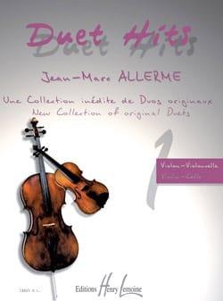 Duet Hits Pour Violon & Violoncelle Jean-Marc Allerme laflutedepan