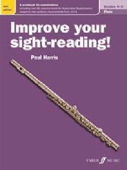 Improve your sight-reading! - Flute Paul Harris Partition laflutedepan