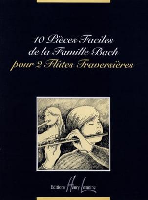 10 Pièces faciles de la Famille Bach - 2 Flûtes laflutedepan