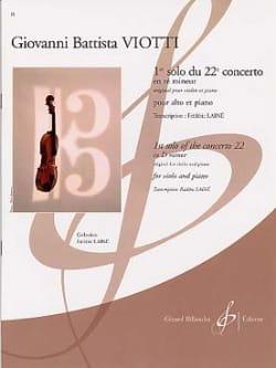 1er solo du Concerto n° 22 en ré mineur - VIOTTI - laflutedepan.com