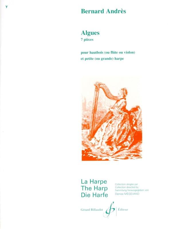 Algues - Bernard Andrès - Partition - Duos - laflutedepan.com
