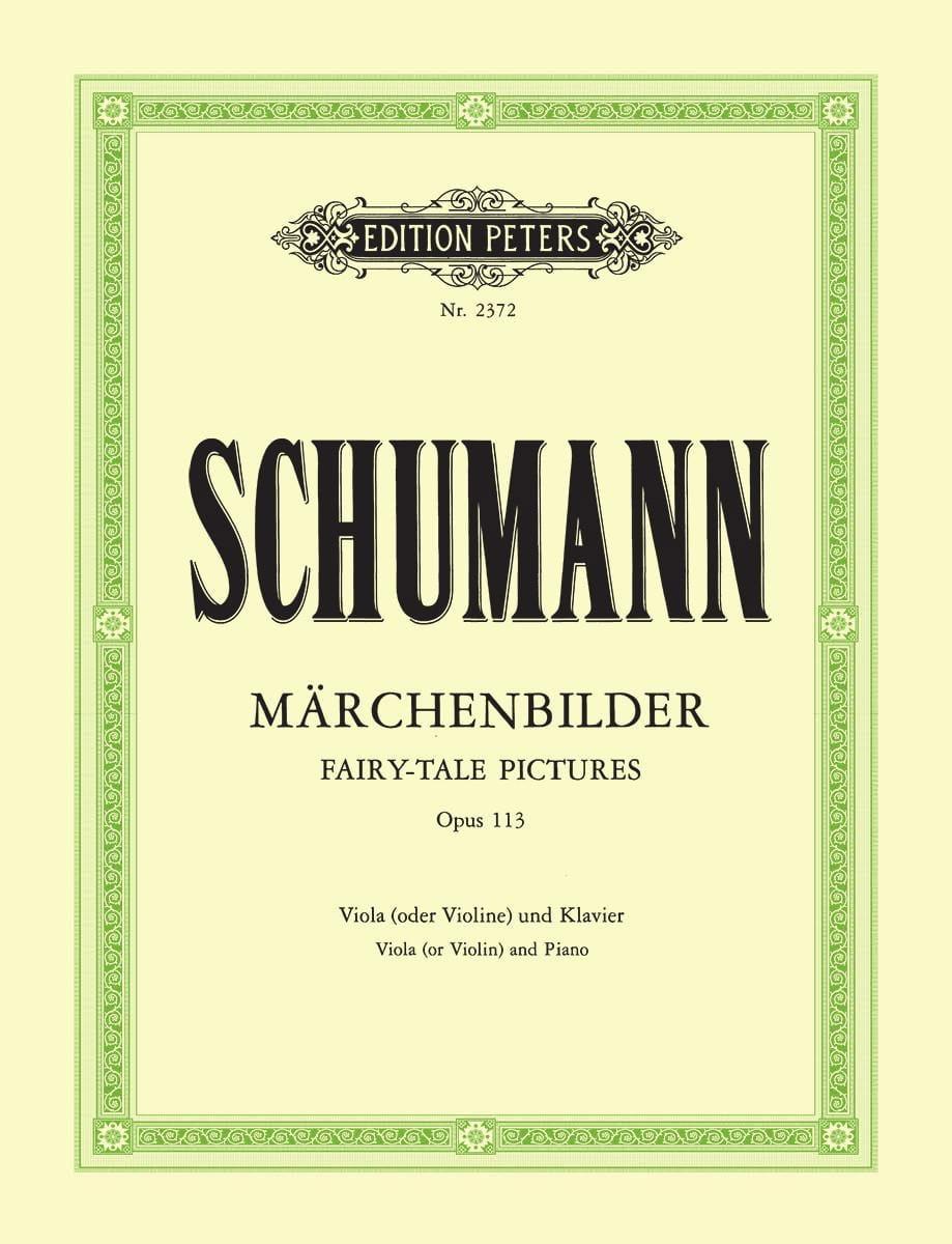 Märchenbilder op. 113 - SCHUMANN - Partition - laflutedepan.com
