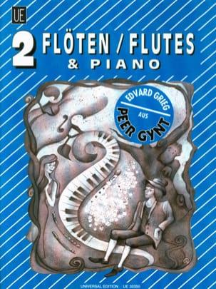 Peer Gynt - 2 Flöten Klavier GRIEG Partition Trios - laflutedepan