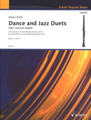 Tanz- und Jazz-Duette, Bd. 1 - Klarinetten Heinz Both laflutedepan