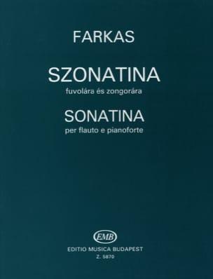Sonatina Ferenc Farkas Partition Flûte traversière - laflutedepan