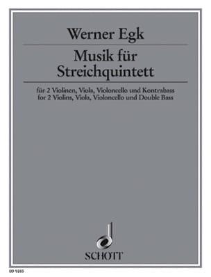 Musik für Streichquintett -Partitur + Stimmen - laflutedepan.com