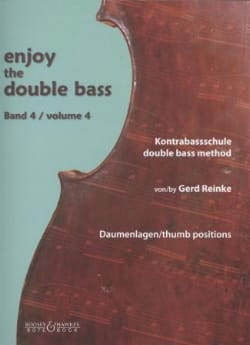 Gerd Reinke - Enjoy The Double Bass Vol. 4 - Partition - di-arezzo.fr