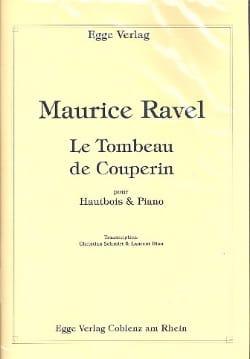 Le Tombeau de Couperin RAVEL Partition Hautbois - laflutedepan