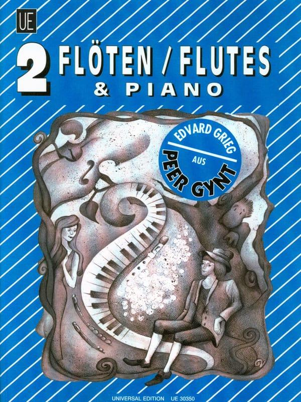 Peer Gynt - 2 Flöten Klavier - GRIEG - Partition - laflutedepan.com