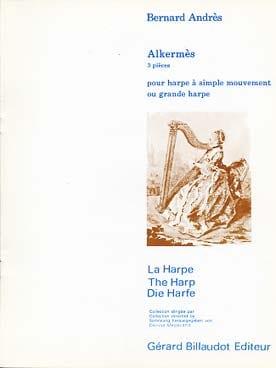 Alkermès - pour Harpe à simple mouvement ou Grande Harpe - laflutedepan.com