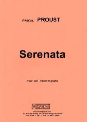 Serenata - Pascal Proust - Partition - Trios - laflutedepan.com