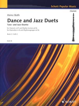 Tanz- Und Jazz-Duette, Bd. 2 - Klarinetten Heinz Both laflutedepan
