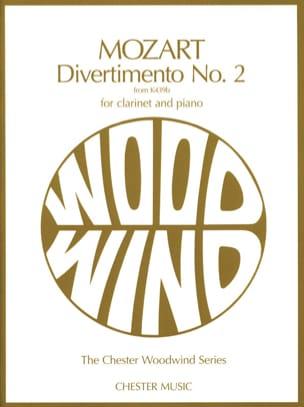 MOZART - Divertimento No. 2 KV 439b - Clarinet and piano - Partition - di-arezzo.co.uk