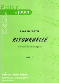 Ritournelle - Clarinette Rémi Maupetit Partition laflutedepan