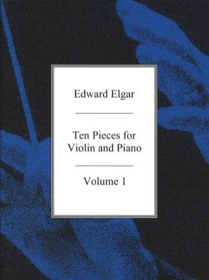 10 pieces for Violin and Piano - Vol. 1 ELGAR Partition laflutedepan