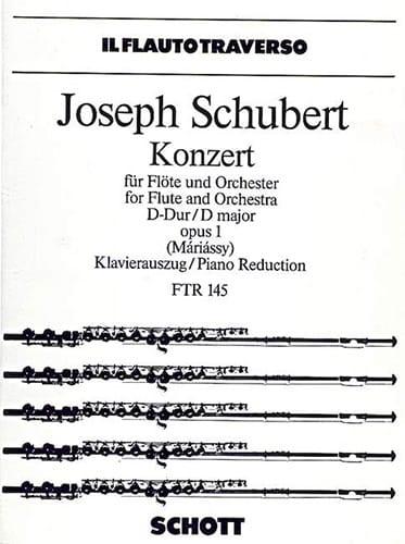 Konzert D-Dur op. 1 - Flöte Klavier - laflutedepan.com