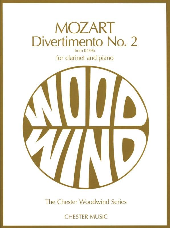 Divertimento n° 2 KV 439b - Clarinet and piano - laflutedepan.com