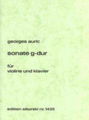 Sonate G-Dur für Violine und Klavier - laflutedepan.com