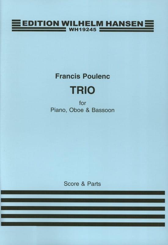 Trio 1926 - POULENC - Partition - Trios - laflutedepan.com