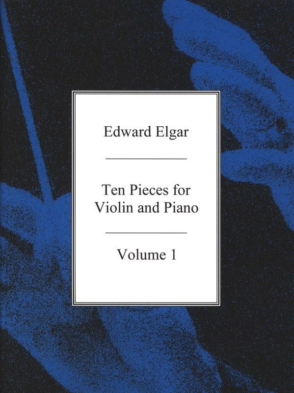 10 pieces for Violin and Piano - Vol. 1 - ELGAR - laflutedepan.com