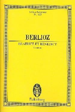 Beatrice et Benedict, Ouverture BERLIOZ Partition laflutedepan