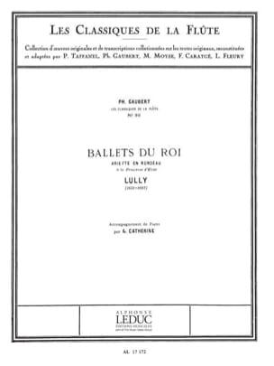 Ballets du Roi Ariette en Rondeau - Flûte piano LULLY laflutedepan