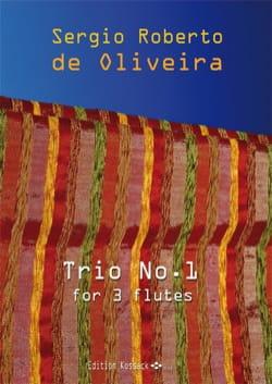 Trio n° 1 - 3 Flûtes - Oliveira Sergio Roberto De - laflutedepan.com