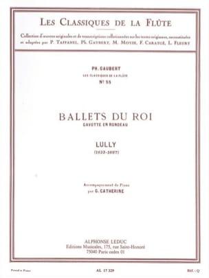 Ballets du Roi Gavotte en Rondeau - Flûte piano LULLY laflutedepan