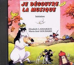 CD - Je Découvre la Musique - Initiation laflutedepan
