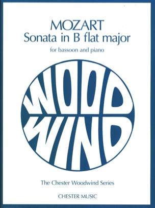 Sonata In Bb Kv 292 - MOZART - Partition - Basson - laflutedepan.com