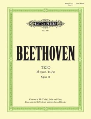 Trio in B-Dur op. 11 -Klarinette Violine Cello Klavier laflutedepan