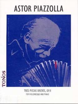 Tres piezas breves op. 4 para cello y piano laflutedepan