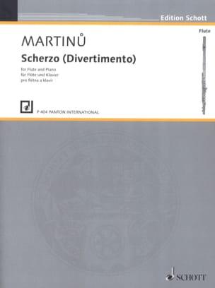 Bohuslav Martinu - Scherzo Divertimento - Partition - di-arezzo.es