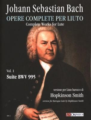 Suite BWV 995 - BACH - Partition - Luth - laflutedepan.com