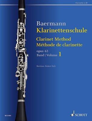 Méthode de Clarinette, op. 63 Vol. 1 Carl Baermann laflutedepan