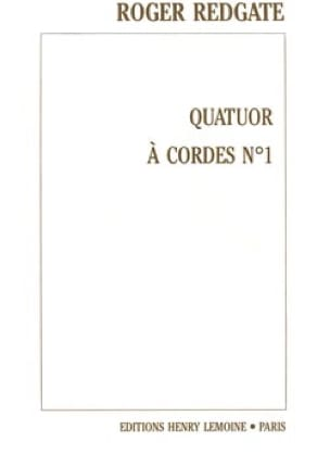 Quatuor à cordes n° 1 -Conducteur + Parties - laflutedepan.com