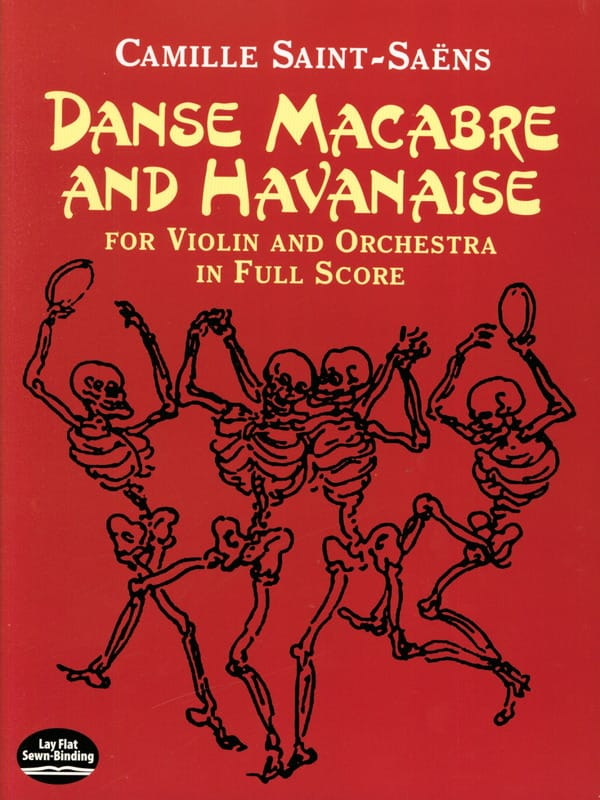 Danse Macabre et Havanaise - Full Score - laflutedepan.com