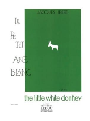 Le Petit Ane Blanc IBERT Partition Alto - laflutedepan