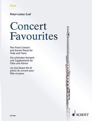 Concert Favourites - Flute et Piano Peter-Lukas Graf laflutedepan