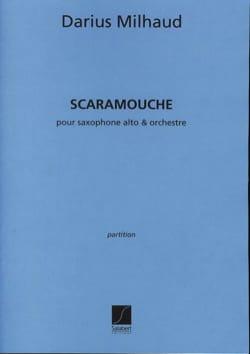 Darius Milhaud - Scaramouche - Driver - Partition - di-arezzo.com