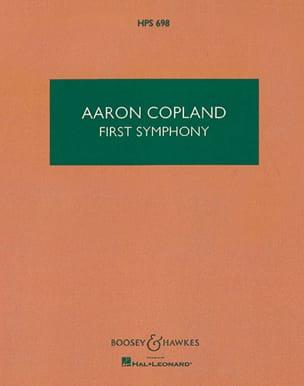 First Symphony - Score COPLAND Partition Petit format - laflutedepan