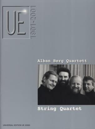 String Quartets Partition Grand format - laflutedepan