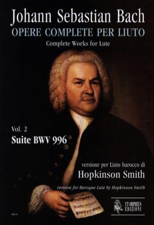 Suite BWV 996 BACH Partition Luth - laflutedepan
