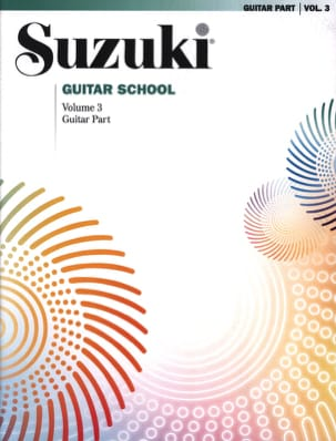 Suzuki Guitar School Guitar Part, Volume 3 SUZUKI laflutedepan