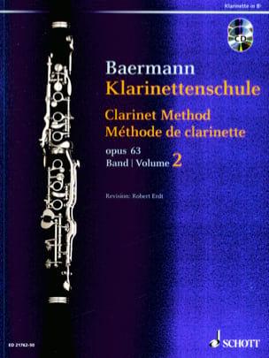 Méthode de Clarinette, opus 63 Vol. 2 2 CDs inclus laflutedepan