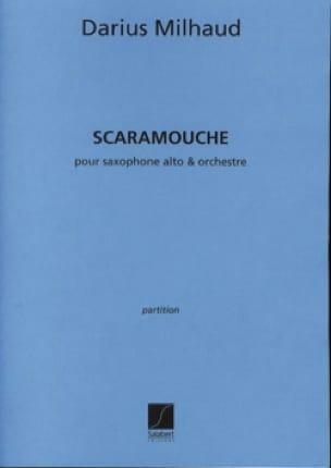 Scaramouche - Conducteur - MILHAUD - Partition - laflutedepan.com
